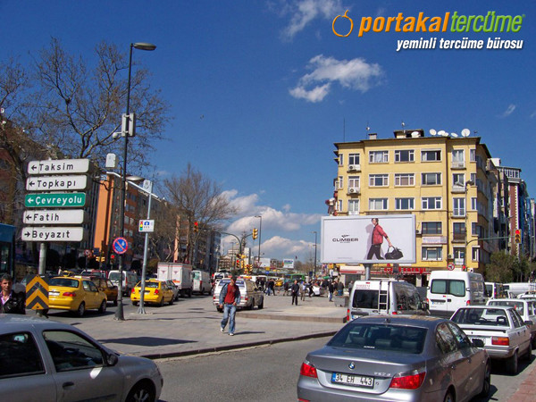 Tercüme Bürosu Aksaray, İstanbul