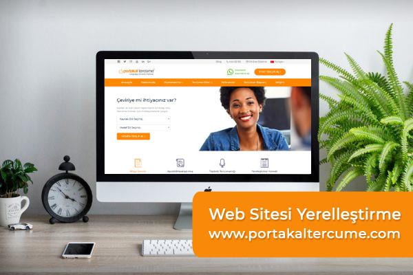 Web Sitesi Yerelleştirme