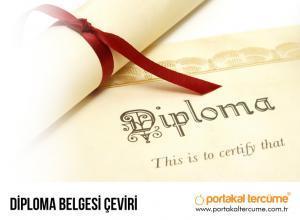 Diploma Belgesi Çeviri
