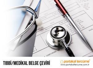 Tıbbi/Medikal Çeviri